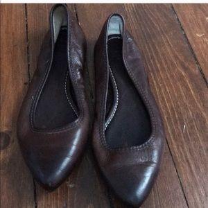 Like New Frye Leather Ballet Flats